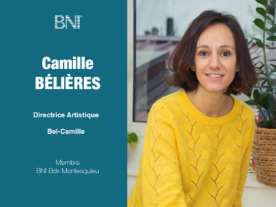 Camille BELIERES BNI Dordogne Gironde