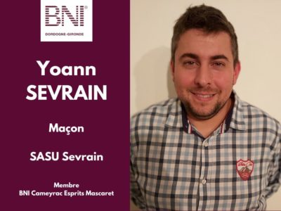 Yoann Sevrain - BNI